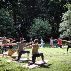 Yoga im Wald (mit Nica, So. 30.06.19)