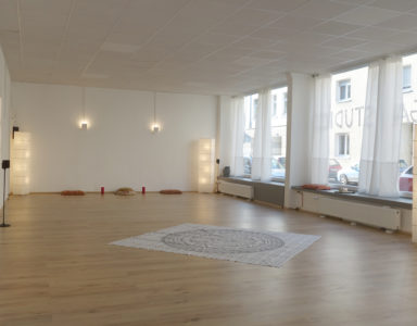 Übungsraum für Yoga und Körperarbeit