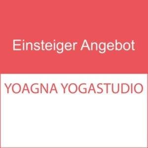 Schnupper Angebot / 3 Yogaklassen