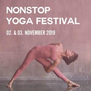 Nonstop Yoga Festival 2019 (Sa. & So., 02.-03. November 2019)