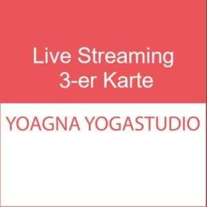 Live Streaming 3-er Karte